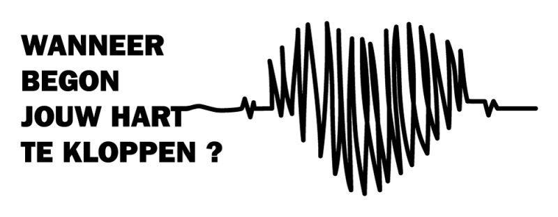 Wanneer begon jouw hart te kloppen?